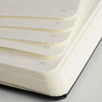 Numbered pages make the Leuchtturm1917 Medium Hardcover Notebook super handy for indexing and referencing.