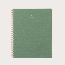 The Fern Green Colourway of the Dot Grid Work Book from Appointed