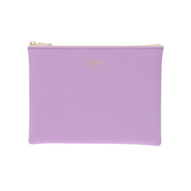 Delfonics Quitterie Pouch Medium in Light Purple from the front