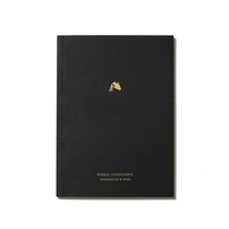 An Organised Life Zodiac Notebook Aquarius Front Cover