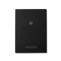 An Organised Life Zodiac Notebook Libra front cover