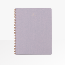 Appointed B5 Spiral Notebook in Lavender Grey.