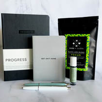 The Progress over Perfection bundle is perfect for those who have big goals to accomplish