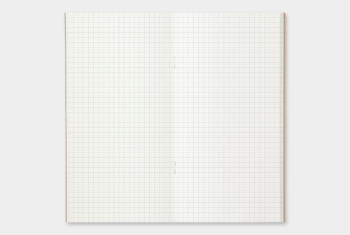 Traveler's Notebook Refill, Grid Lining, 64 pages,MD Paper