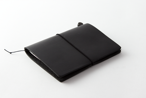 The Traveler's Notebook by Travelers Company | Leather Passport | Black