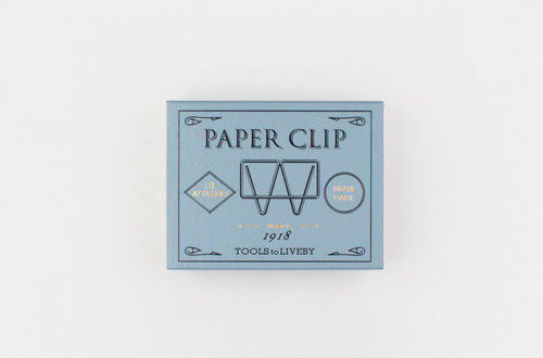 Paper clips from Tools to Liveby are Mogul