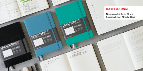 LEUCHTTURM1917 Bullet Journal | The Official Bujo Notebook