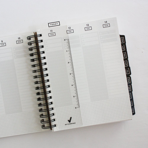 The Get to Work Book Today Bookmark snaps in easily