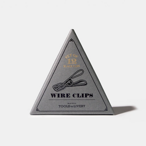 Tools to Liveby Wire Clips in box
