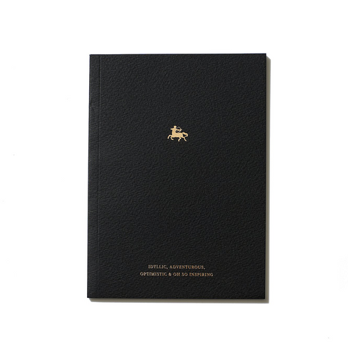 An Organised Life Zodiac Notebook Sagittarius Front Cover