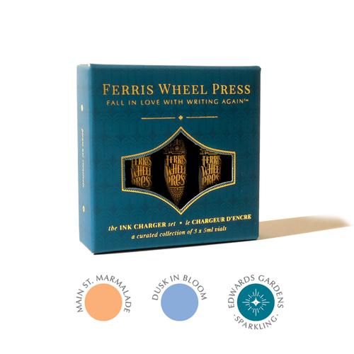 Ferris Wheel Press Ink Charger Set   Twilight Garden