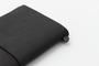 Traveler's Notebook Black Cover and Kit   Regular Size   Black Leather Travelers Notebook