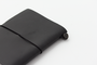 The Black Passport Travelers Notebook in a beautiful black shade.