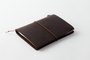 Traveler's Notebook passport, brown leather from Traveler's Company Japan