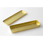 The interior of the Traveler's Company Japan Brass Pencil Case