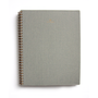 Dove Grey Appointed Notebook. Lined, Grid and Blank.
