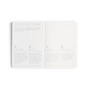 The MiGoals A6 Get __it Done notebooks have a helpful guide to show you how to use it best. Available in Black and Grey