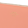 Delfonics Quitterie Pouch Medium in Coral close up (for illustrative purposes)