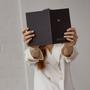 An Organised Life Zodiac Notebook Sagittarius Held Out