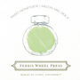 Ferris Wheel Press Sweet Honeydew Ink Swatch