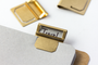 Mark up your folders or your notes with these handy Traveler's Company Brass Index Clips