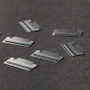 Midori Index Clips are slim a compact - ideal for sitting