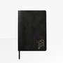 Elissa Barber x AOL Vegan Leather Blank Notebook with gold foil detail
