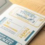 Letterpress printed cards for use on