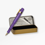 Ltd Edition Kaweco AL Sport Fountain Pen in Vibrant Violet with a gift tin case
