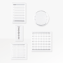 Appointed Acrylic Planning Stamp Set from the Appointed Productivity Collection