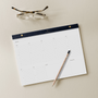 A Styled image of the Appointed Daily and Weekly A4 Desk Planner