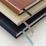A close up of the three colours in the Appointed Productivity Collection A5 Dot Grid Journal