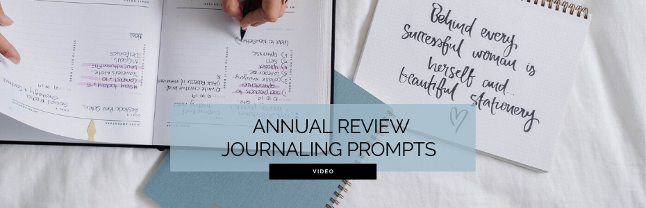 Annual Review Journaling Prompts for 2020 Planning