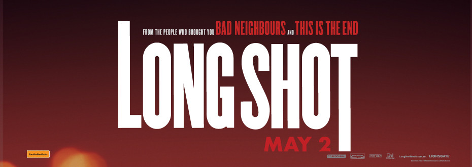 ***Competition*** Win 1 of 3 Double Passes to the Long Shot with Charlize and Seth