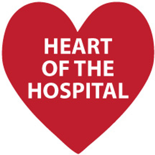 Heart of the Hospital PPE Decal (Roll of 50)