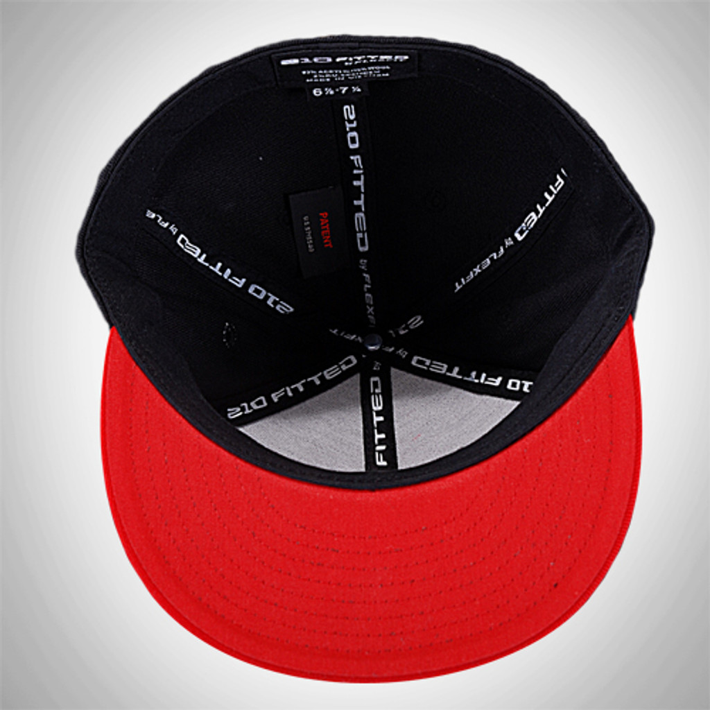 "Cap ""Jiu-Jitsu"" Fitted Black"