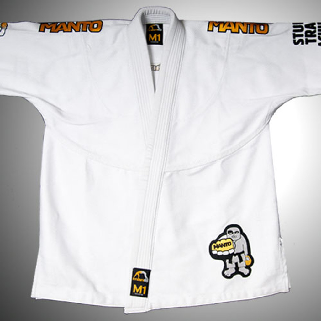 "MANTO ""SELECT"" GI for Kids - White"