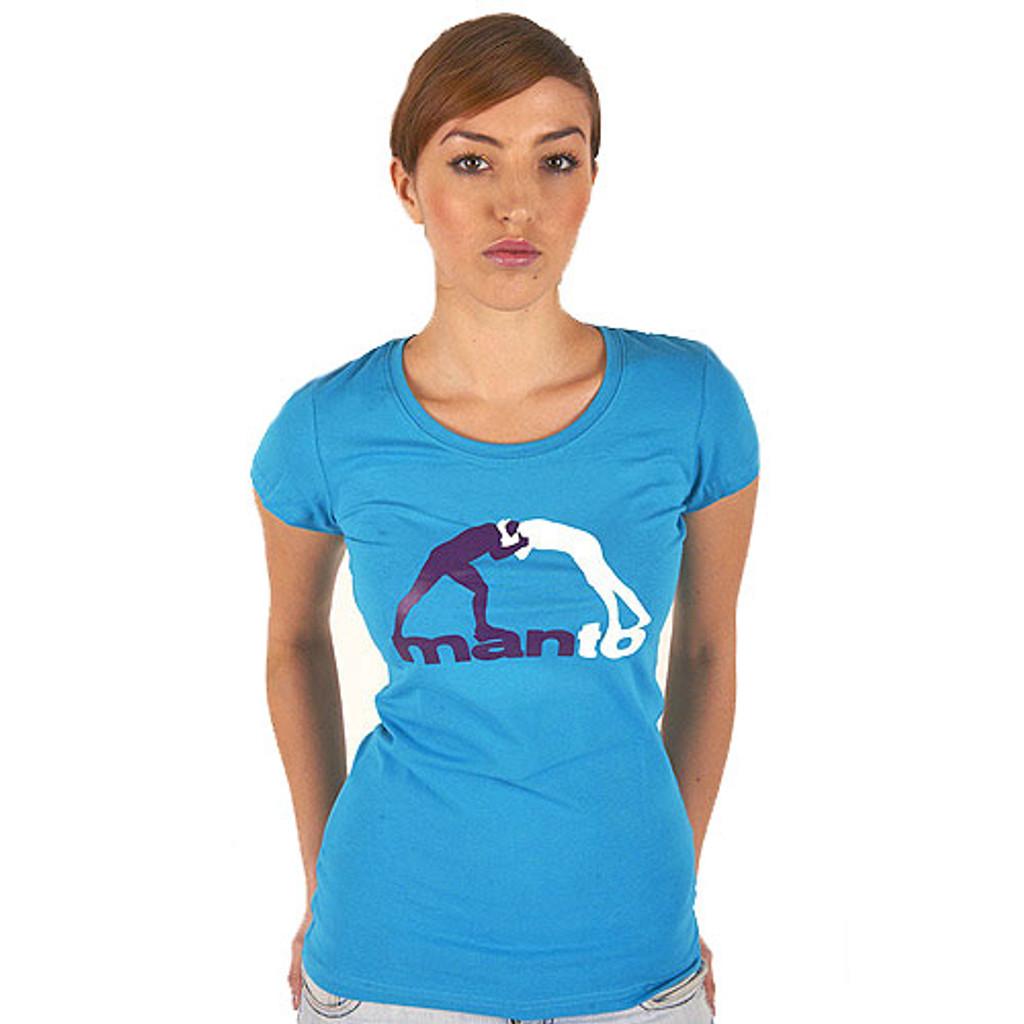 """Tshirt """"CLINCH"""" Blue for Women"""
