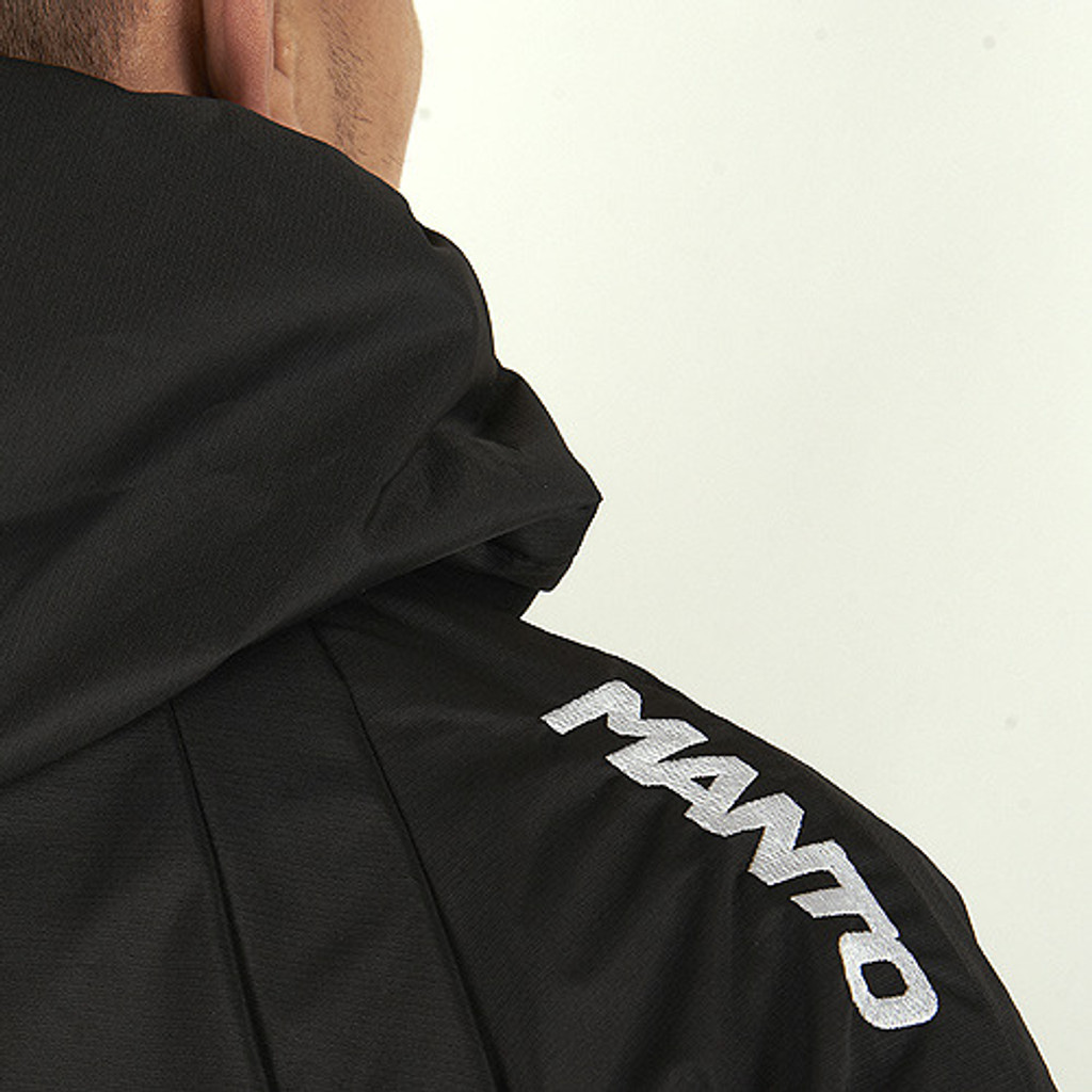 MANTO Waterproof Classic Windbreaker Black