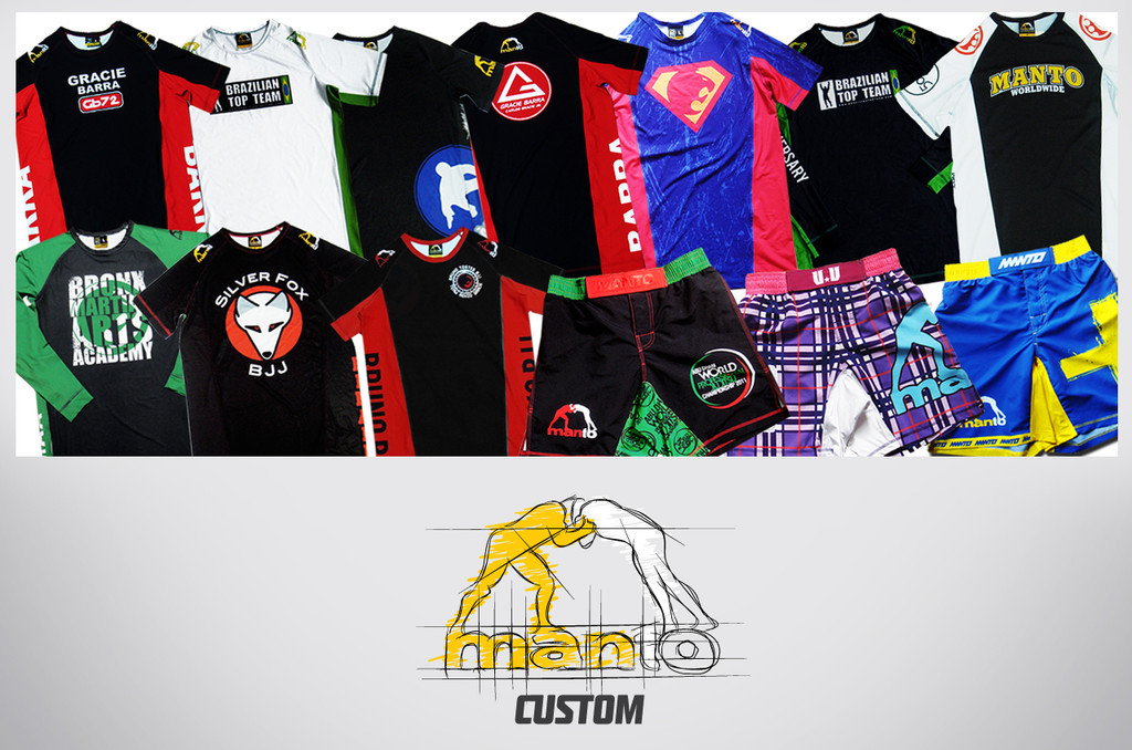 MANTO x ACADEMY CUSTOM RASHGUARDS for Adults