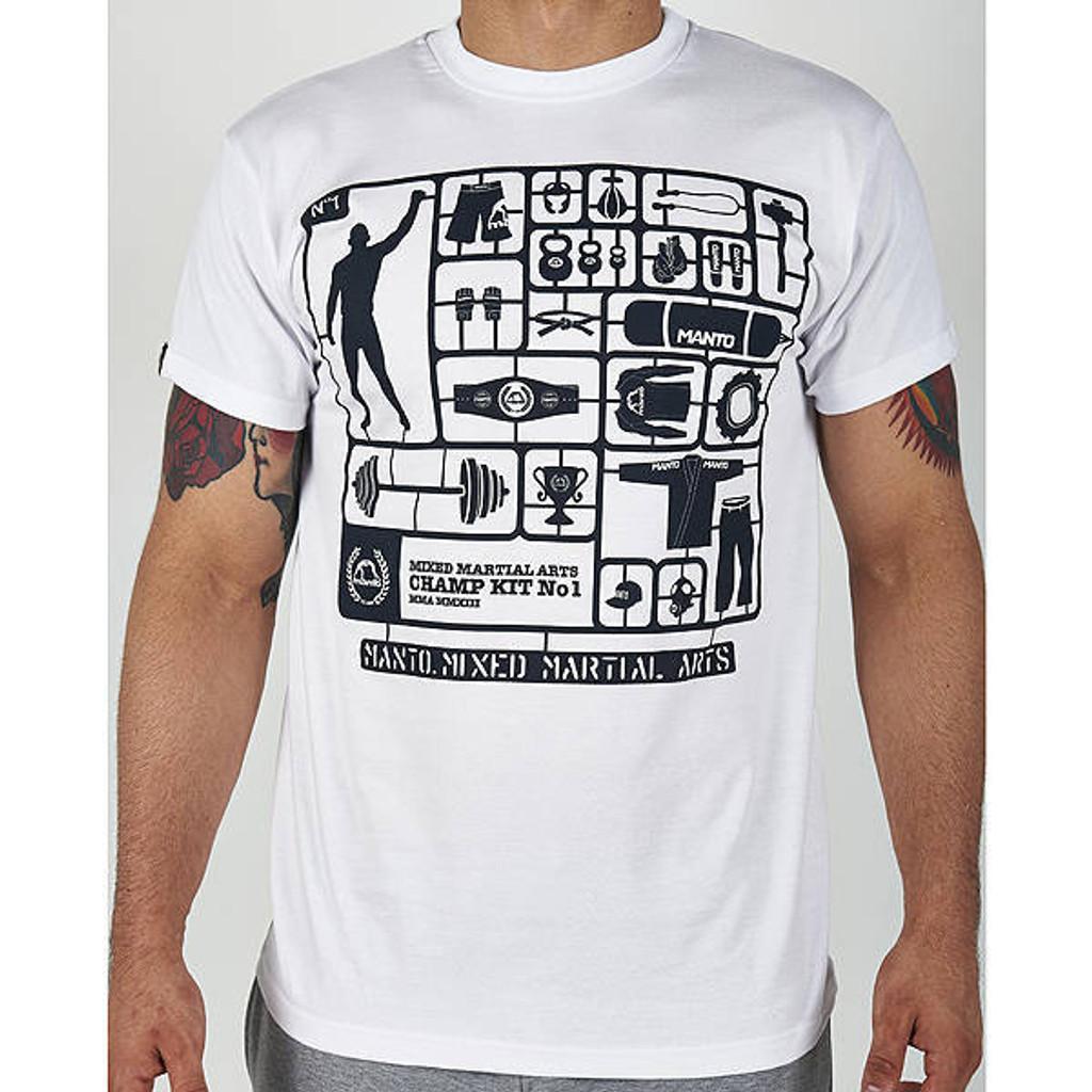 """T-shirt """"CHAMP KIT"""" White"""