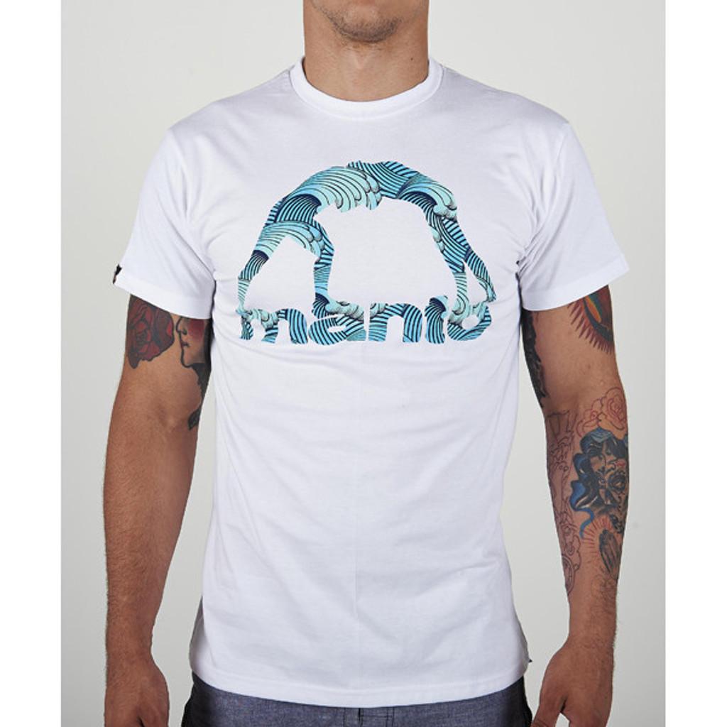 "T-Shirt ""WAVES"" White"