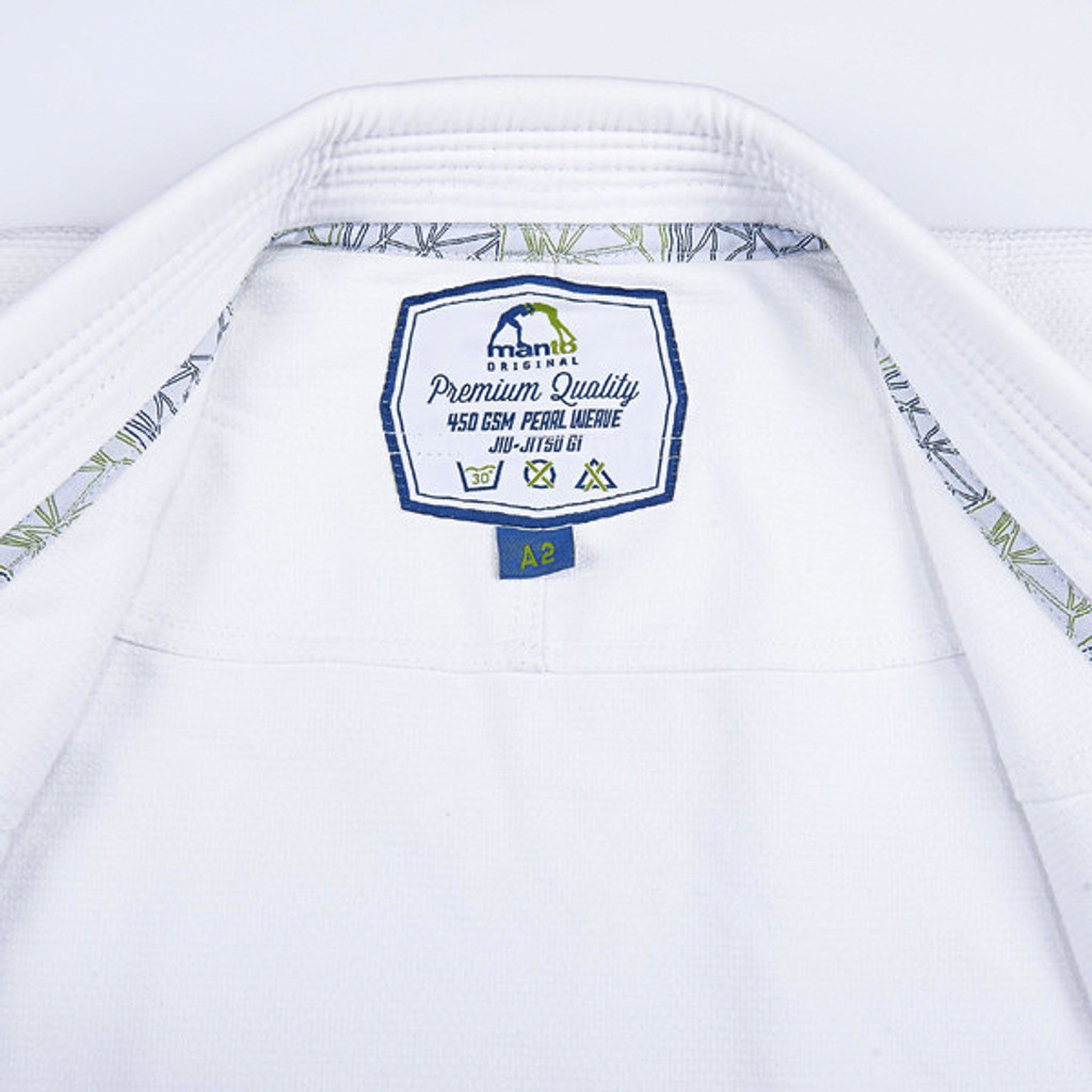 "Manto ""DIAMOND "" Competition Lightweight BJJ GI White"