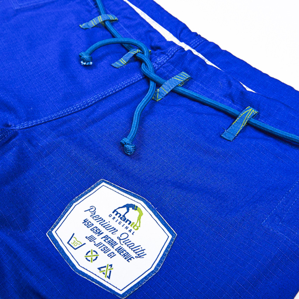 "Manto ""DIAMOND "" Competition Lightweight BJJ GI Blue"