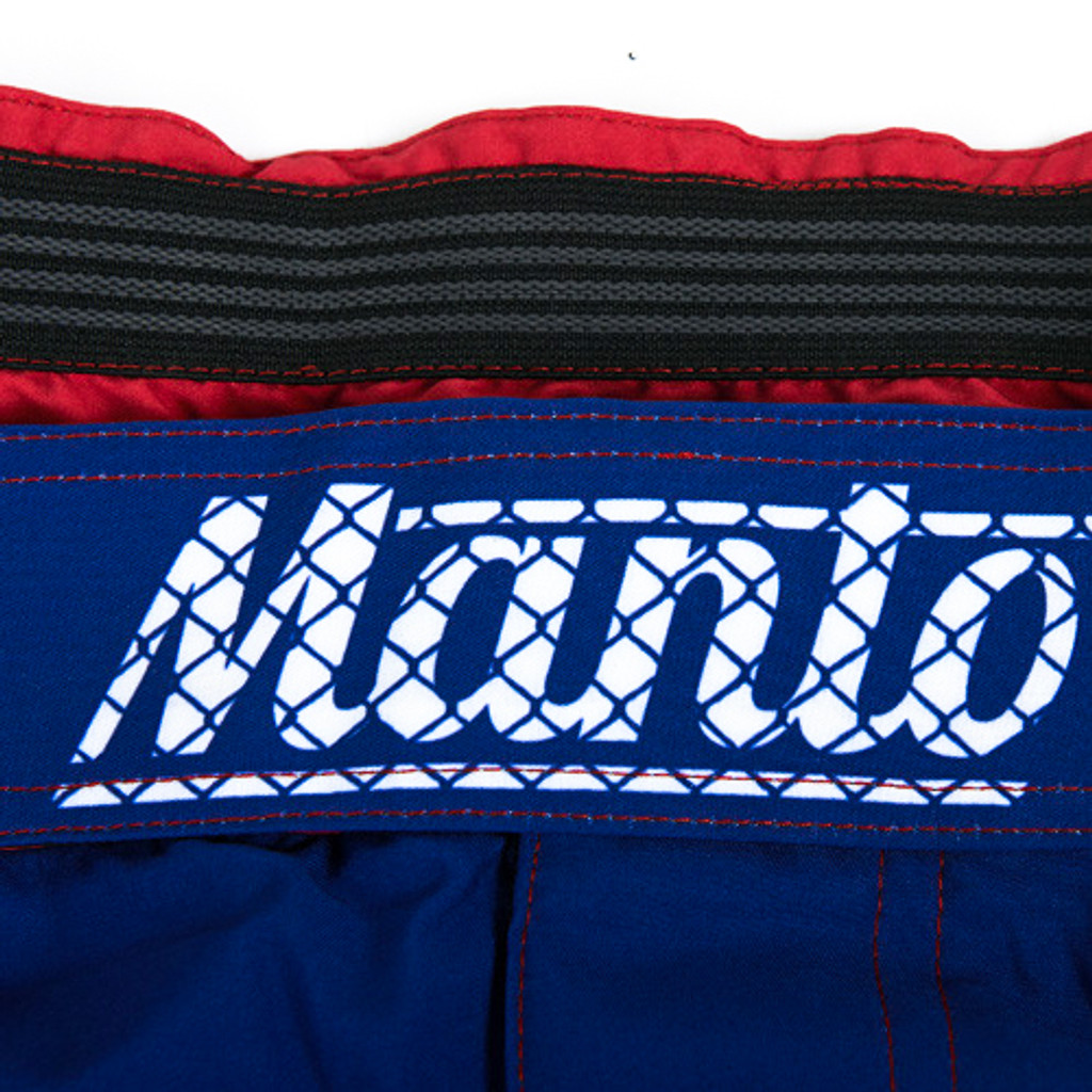 """MANTO """"WARRIORS"""" SHORTS Blue for Kids"""