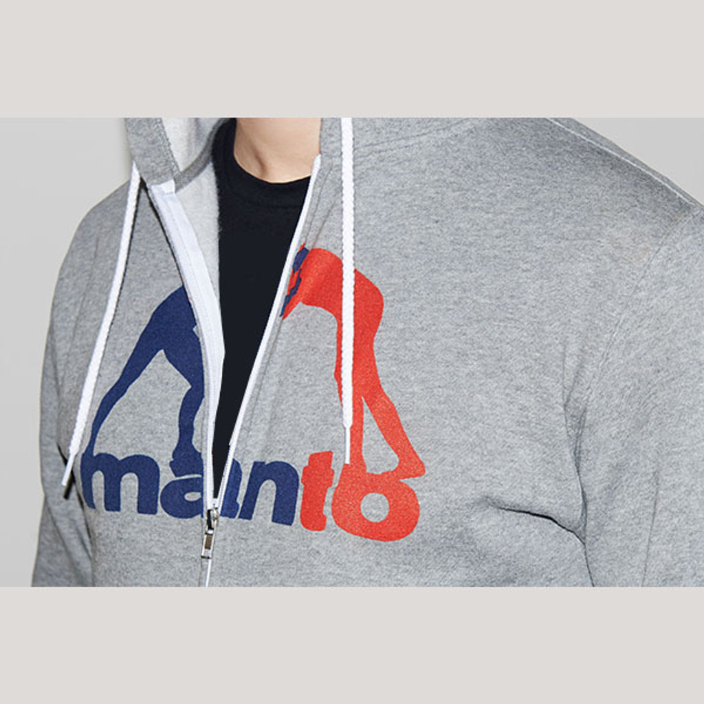 "MANTO ""CLINCH"" HOODIE ZIP Gray"