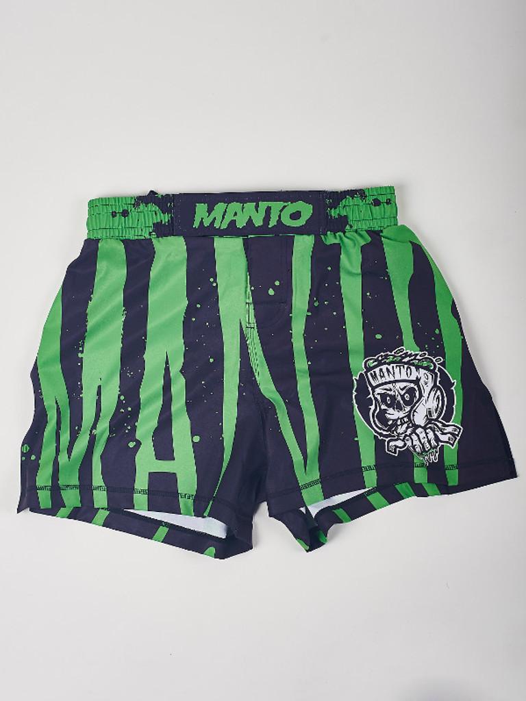 "MANTO ""ZOMBIE"" SHORTS Black"