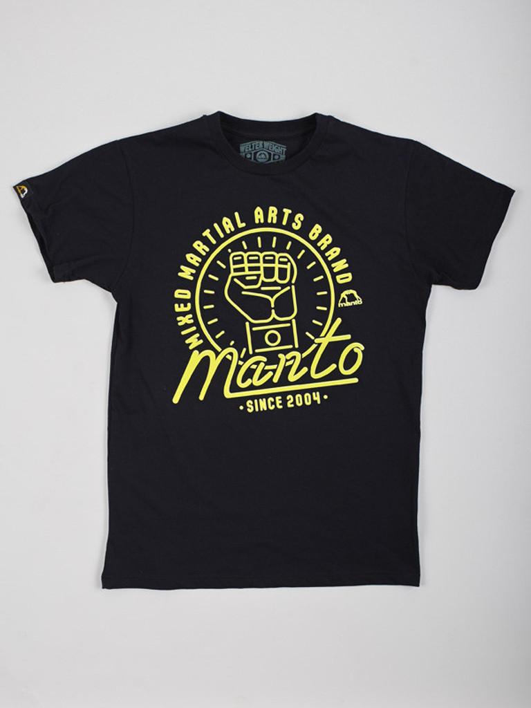 "MANTO ""NEON"" T-SHIRT Black"