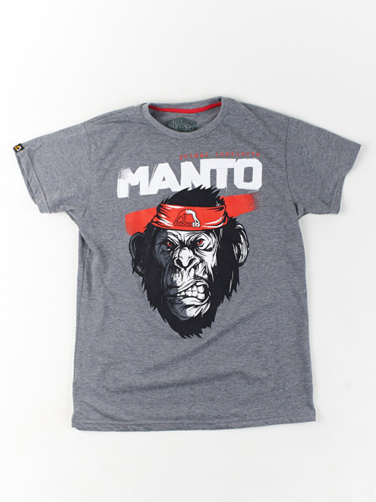 "MANTO ""JUNGLE"" T-SHIRT Grey"