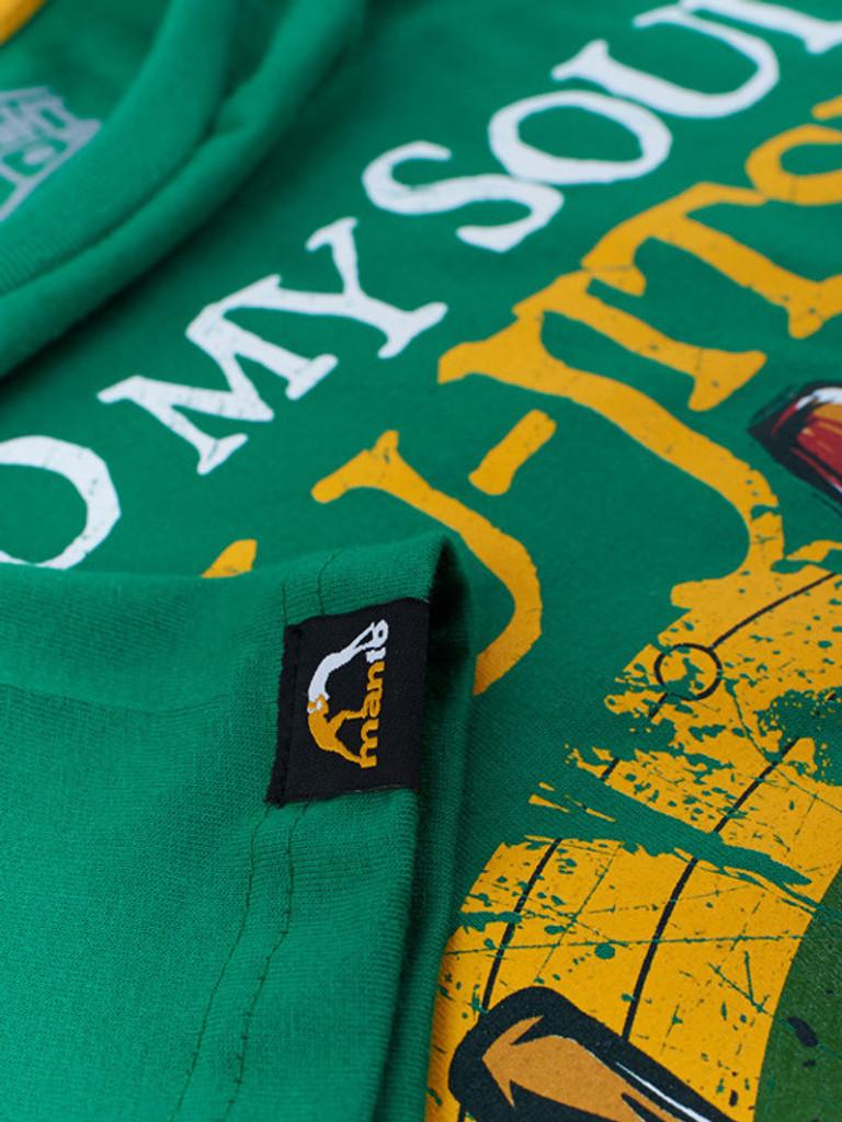 "MANTO ""SOUL"" T-SHIRT Green"
